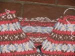 V-Neck Fair Isle Sweater with Steek Cut