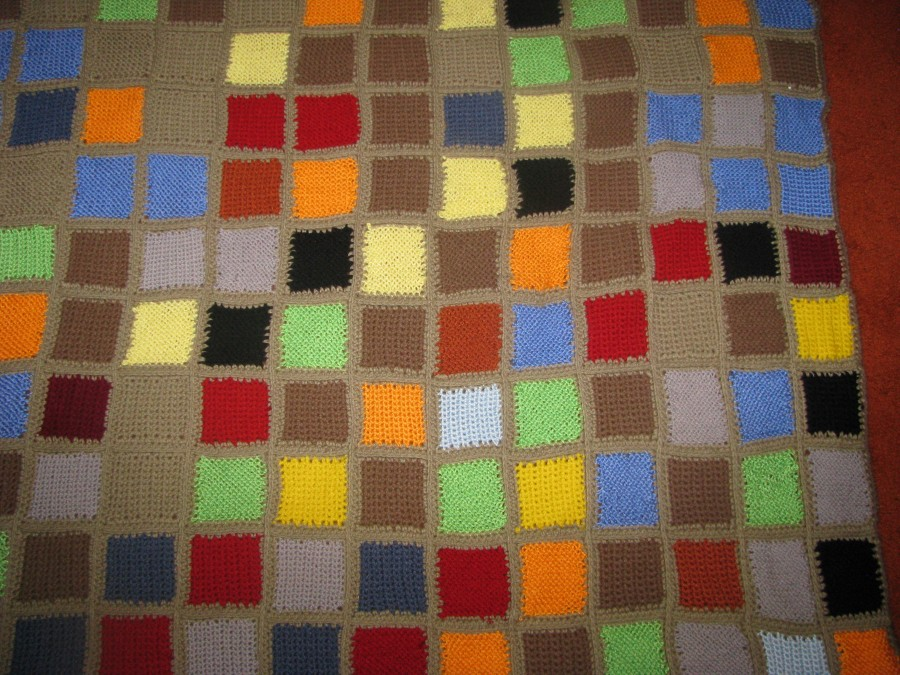 Middle right hand side of code blanket.